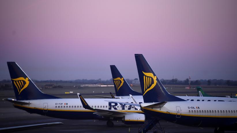 Ryanair: Ryanair-Maschinen am Flughafen Dublin