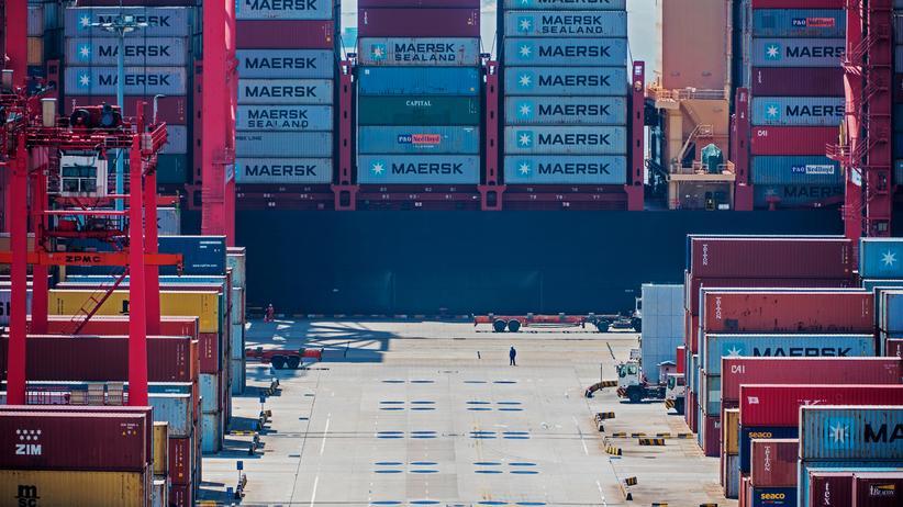 Handelsstreit: Chinas Exporte überraschend stark gestiegen