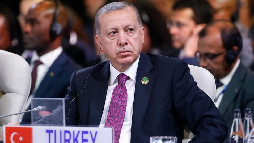 Konflikt mit den USA: Der türkische Präsident Recep Tayyip Erdoğan