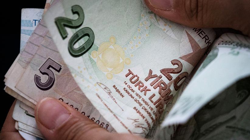 Kursverfall: Türkische Lira stabilisiert sich etwas