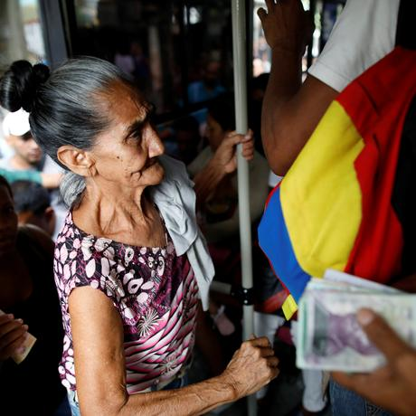 Venezuela: In einem Nahverkehrsbus in Caracas