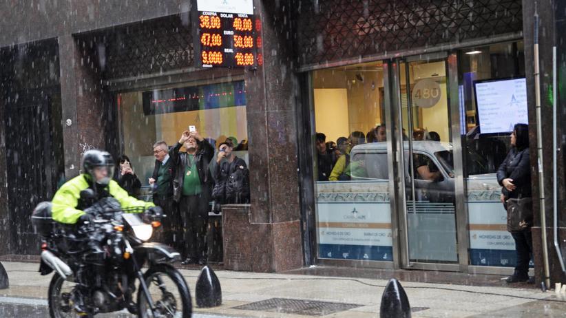 """Argentinien: """"Die Unsicherheit wird noch größer werden"""""""
