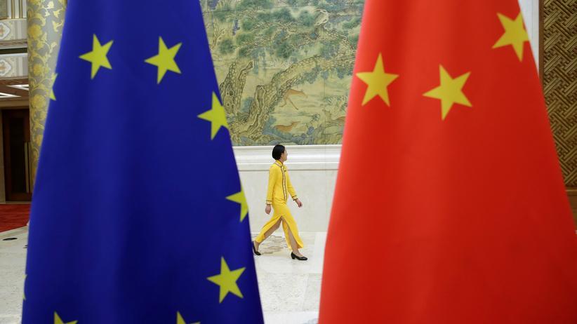 Strafzölle: Im Juni trafen sich Vertreter der EU und Chinas in Peking, um über die Handelsbeziehungen zu reden.