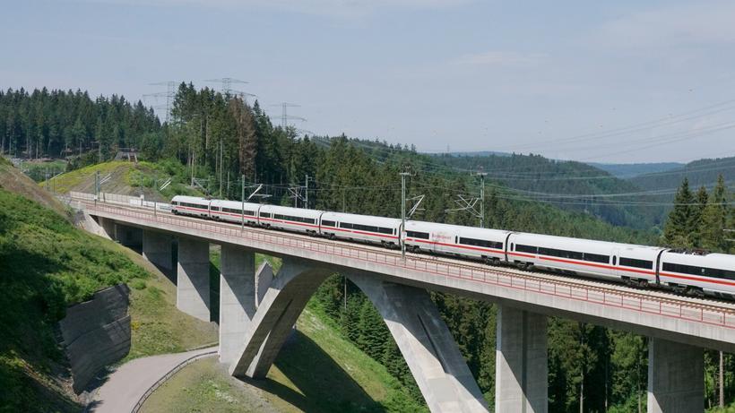 Verkehr Bahn Saniert Ab 2019 Wichtige Ice Strecken Zeit