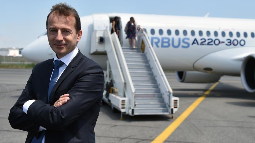 Luftfahrt- und Rüstungskonzern: Guillaume Faury (Bild) soll Tom Enders als Airbus-Chef ablösen.