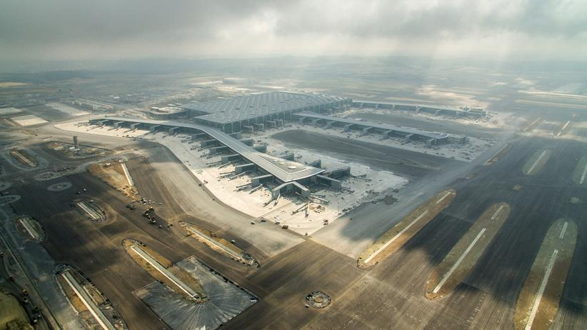 Neuer Flughafen Istanbul: Der Herr der Lüfte