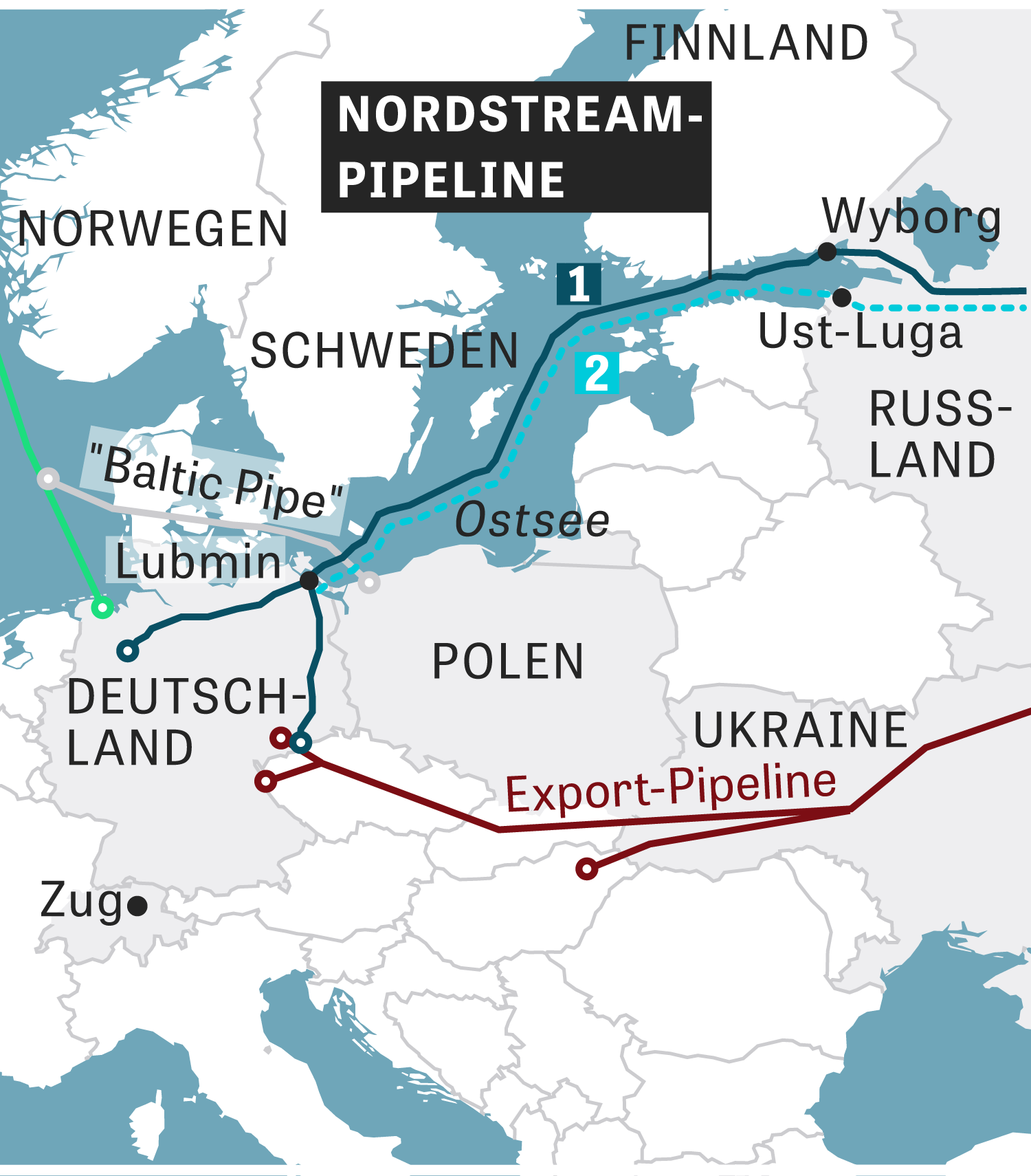 Nord Stream 2 Karte.Gas Pipeline Us Wants To Stop Pipeline Nord Stream 2
