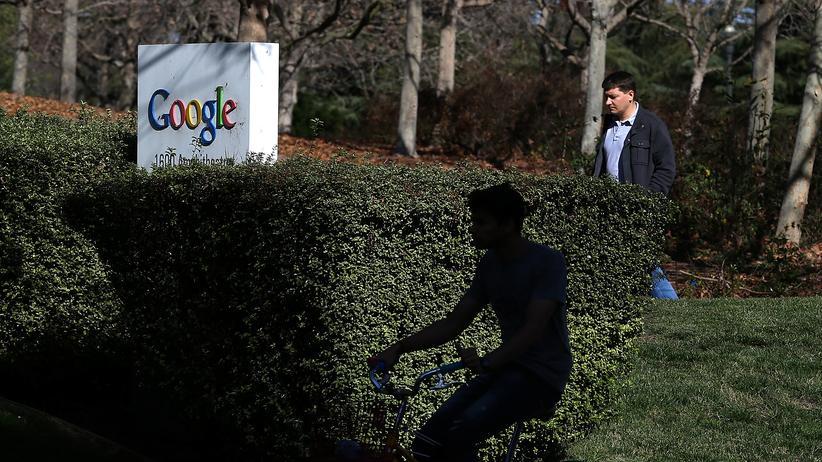 Richard DeVaul: Der Google-Hauptsitz in Mountain View, Kalifornien