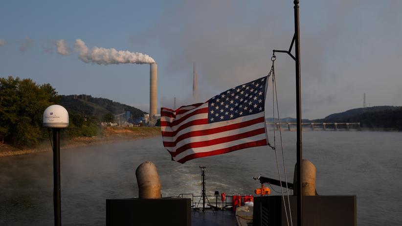 Klimawandel: Kohlendioxidausstoß in den USA stark gestiegen