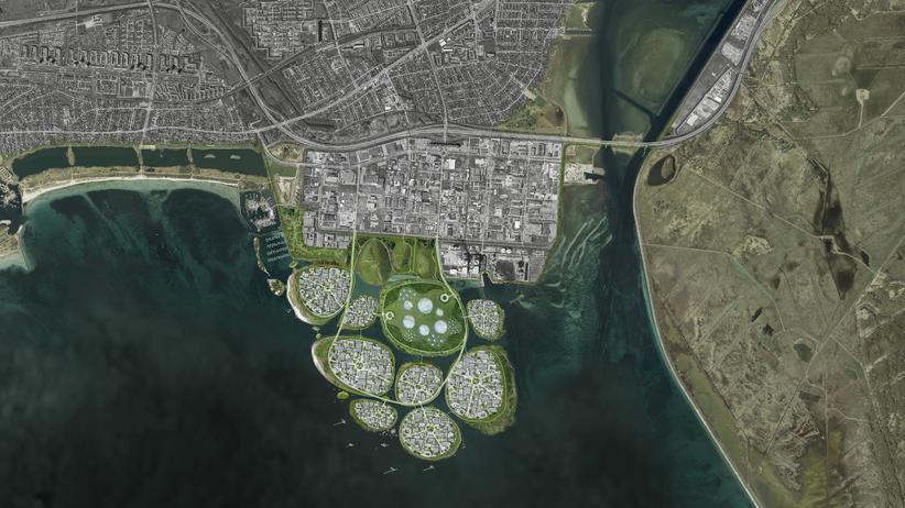 Kopenhagen: Dänemark will neun künstliche Inseln aufschütten