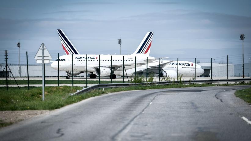 Fluggesellschaft : Machtkampf um Air France-KLM?