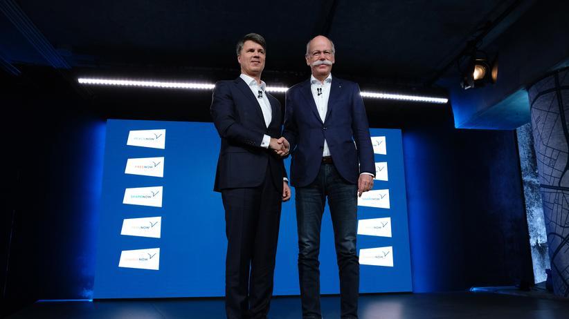 Automobilindustrie: BMW und Daimler kooperieren beim autonomen Fahren