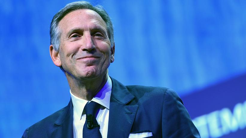 Howard Schultz: Howard Schultz will in die Politik.