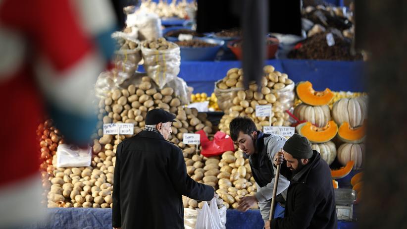 Türkei: Ein Gemüsemarkt in Ankara, Türkei