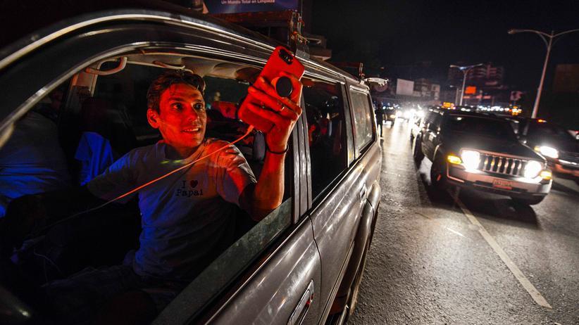Venezuela: Ein Land im Dunkeln