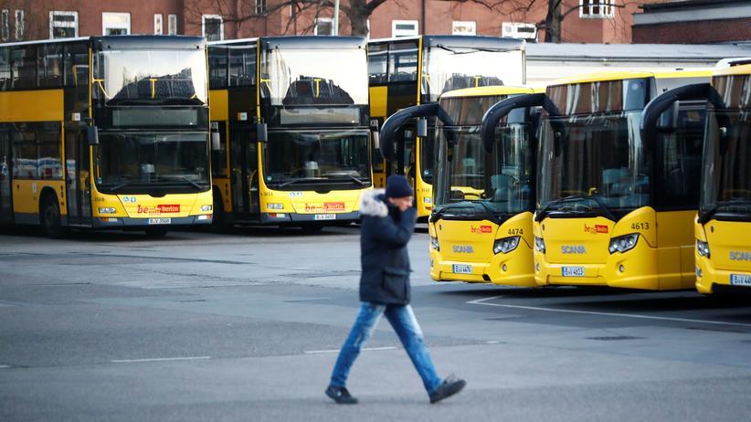 Nahverkehr: Berliner Verkehrsbetriebe streiken für 24 Stunden