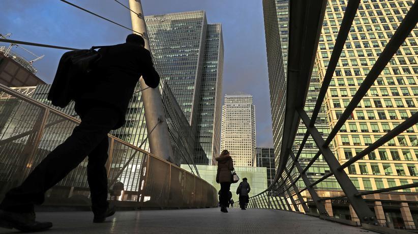 Anleihehandel: Der Finanzdistrikt in London