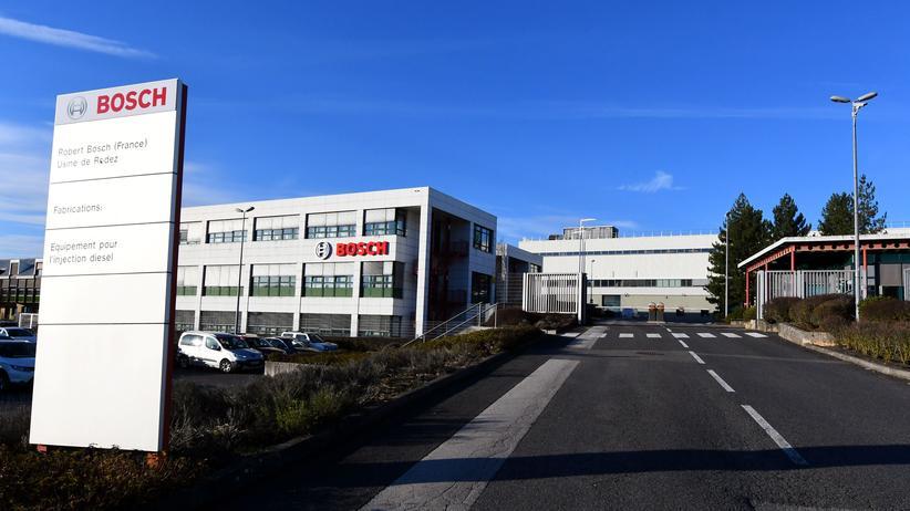 Dieselskandal: Ein Firmengebäude von Bosch in der französischen Stadt Onet-le-Chateau