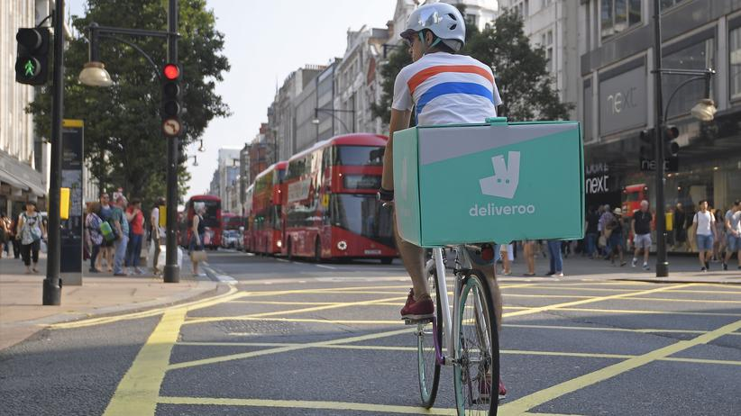 Essenslieferdienst: Amazon investiert in Deliveroo