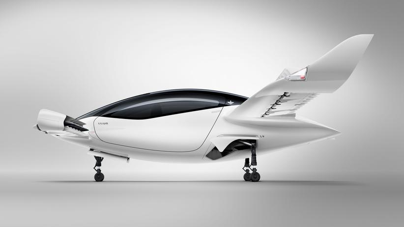 Lilium: Elektroflugtaxi schafft Jungfernflug