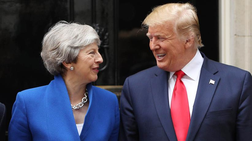 Brexit: Donald Trump lobt Brexit und Theresa May