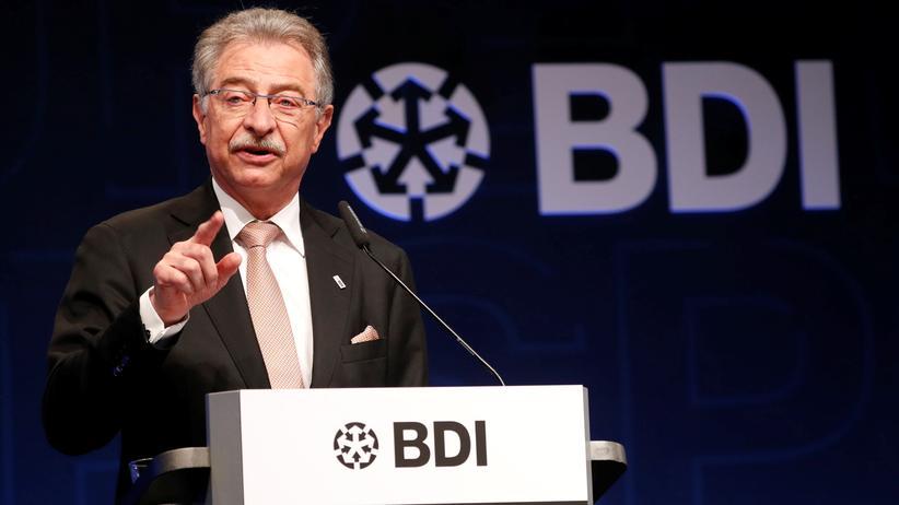 """BDI-Präsident: """"Die Regierungspolitik schadet den Unternehmen"""""""
