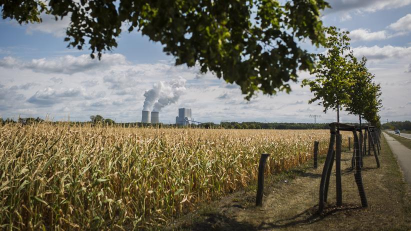 CO2-Steuer: Das Braunkohlekraftwerk im brandenburgischen Schwarze Pumpe