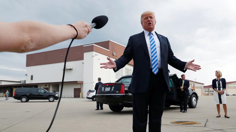 Donald Trump: Ich bestimme, ihr gehorcht – das ist das Prinzip der Wirtschaftspolitik von US-Präsident Donald Trump.