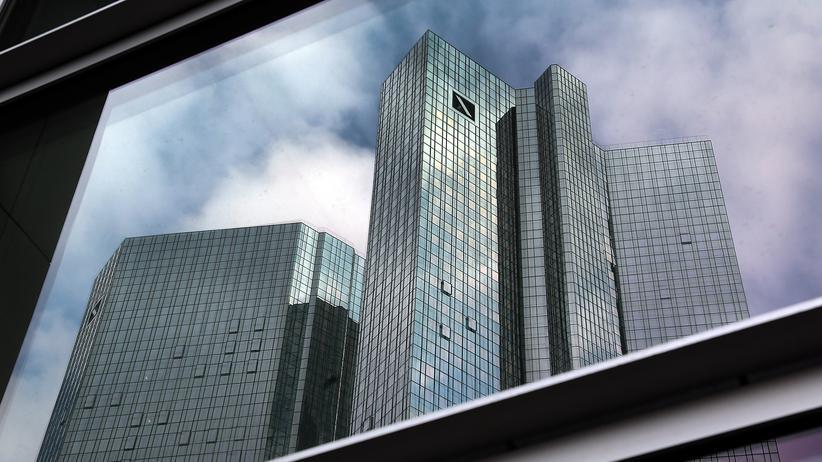 Deutsche Bank: Die Konzernzentrale der Deutschen Bank in Frankfurt