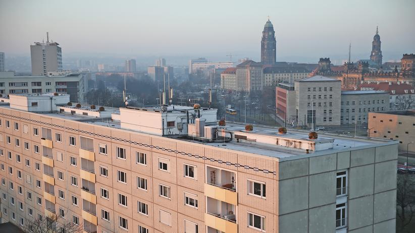 Dresden: Blick auf die Dresdner Innenstadt