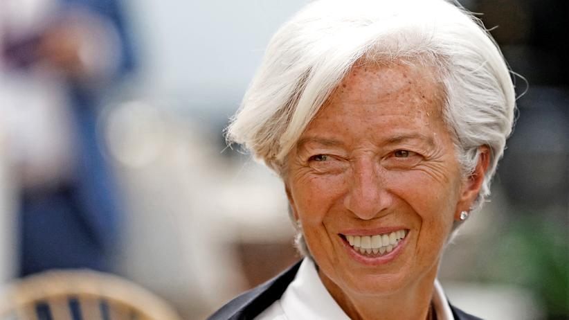 Europäische Zentralbank: Eigentlich würde ihre Amtszeit beim IWF noch bis Mitte 2021 dauern: die Französin Christine Lagarde bei einer Frauentagung in Mexico City.