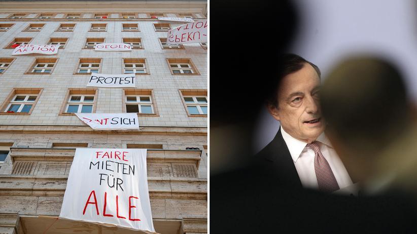 Niedrigzins der Notenbank: Kann Mario Draghi etwas für die hohen Mieten?