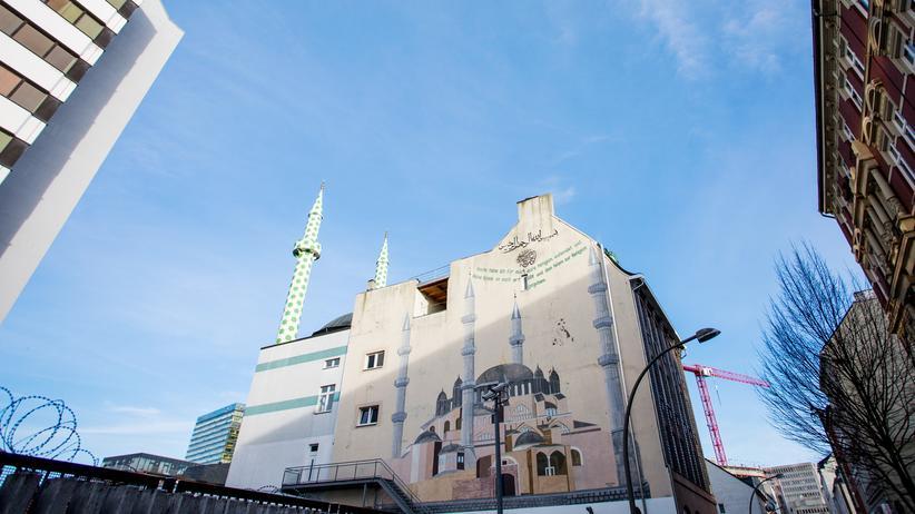 Wie viele Muslime leben in Deutschland?: Die Centrum-Moschee in Hamburg