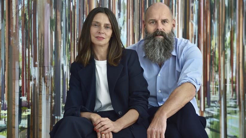 Berliner Verlag: Silke und Holger Friedrich, die neuen Eigentümer des Berliner Verlags