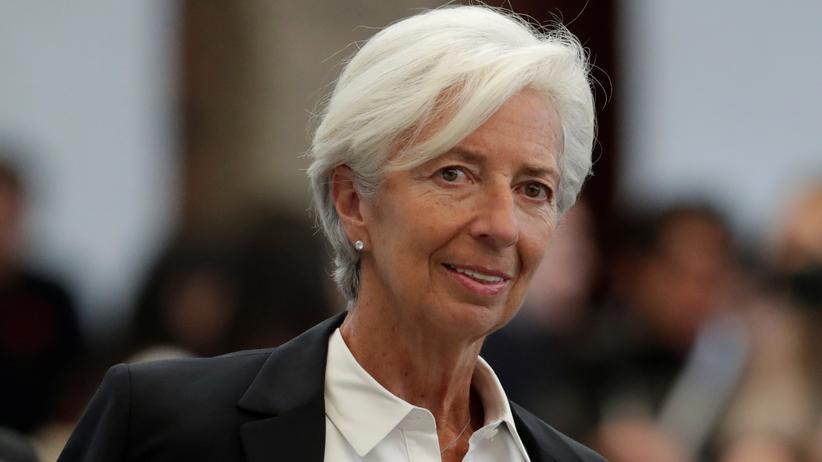 Europäische Zentralbank: Christine Lagarde, bisherige IWF-Chefin