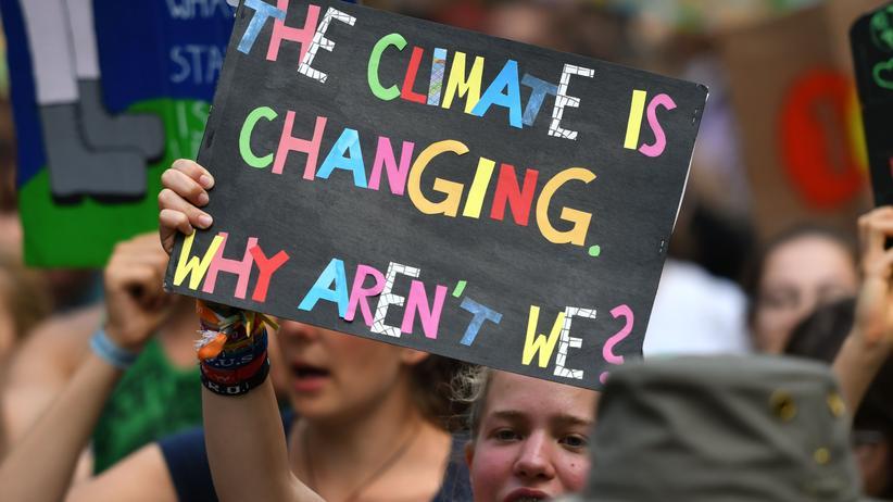 Sabine Nallinger: Klimaprotest in Dortmund