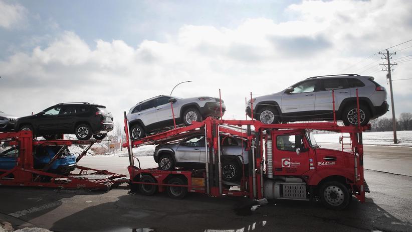 Autoindustrie: Autobauer Fiat Chrysler und PSA sprechen über Fusion