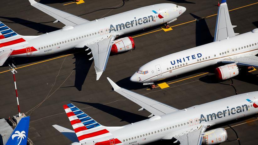 Boeing 737 Max: BBoeing-Flugzeuge des Typs 737 Max in Seattle im US-Bundesstaat Washington (Foto vom 1. Juli 2019)
