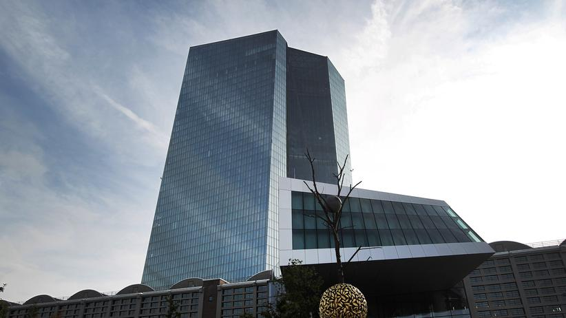 Zinsen: Die Europäische Zentralbank (EZB) in Frankfurt