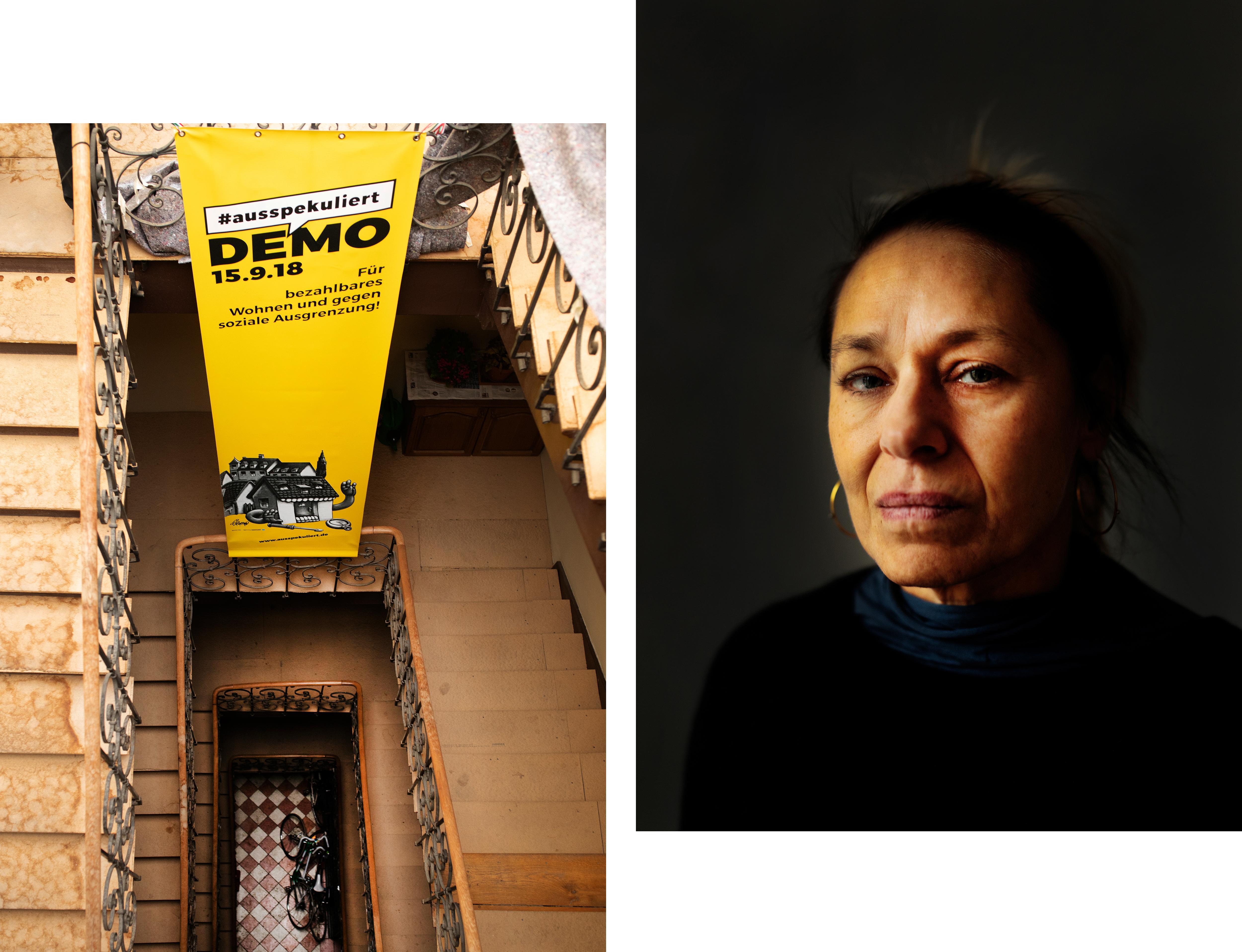 München: Das Treppenhaus / Maria Ploskow