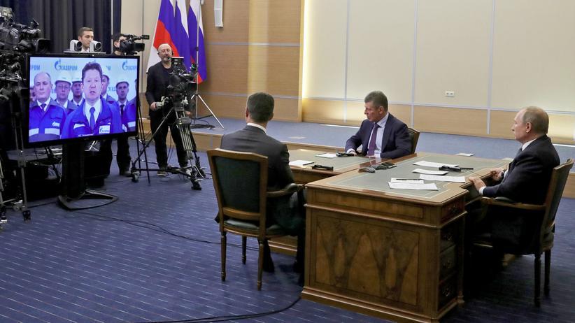 """""""Kraft Sibiriens"""": Russland und China nehmen gemeinsame Gasleitung in Betrieb"""