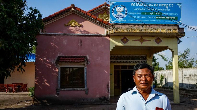 Kambodscha: Der Gewerkschafter Pisey Puth von der Cambodian Labour Confedaration (CLC)