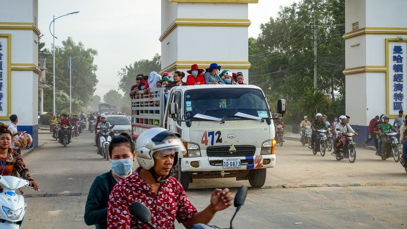 Kambodscha: Schmutzige Räder