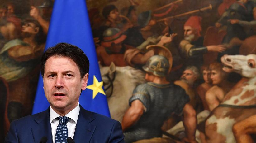 Volksbank Banca Popolare di Bari: Italiens Regierungschef Giuseppe Conte