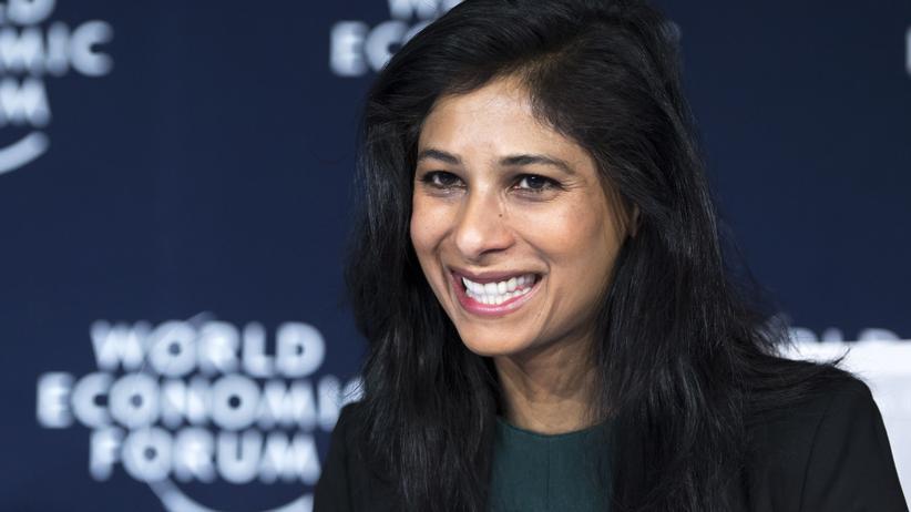 Gita Gopinath ist seit 2019 Chefökonomin des IWF (Archiv).