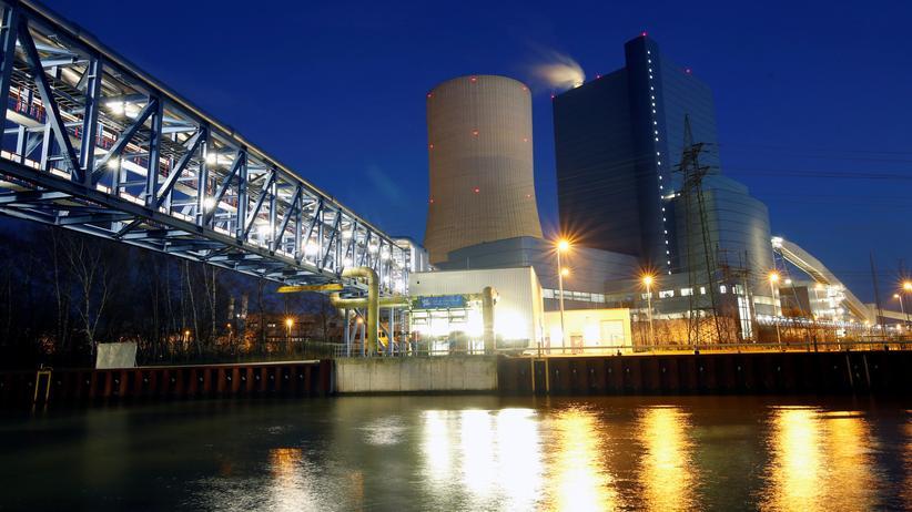 Gesetz zum Kohleausstieg: Das umstrittene Steinkohlekraftwerk Datteln 4 in Nordrhein-Westfalen
