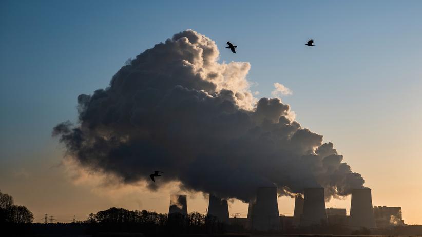 Energiewende: Ein Kraftwerk in der Nähe von Peitz in Brandenburg