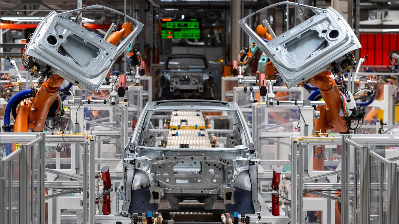 Autoindustrie Arbeitsplätze