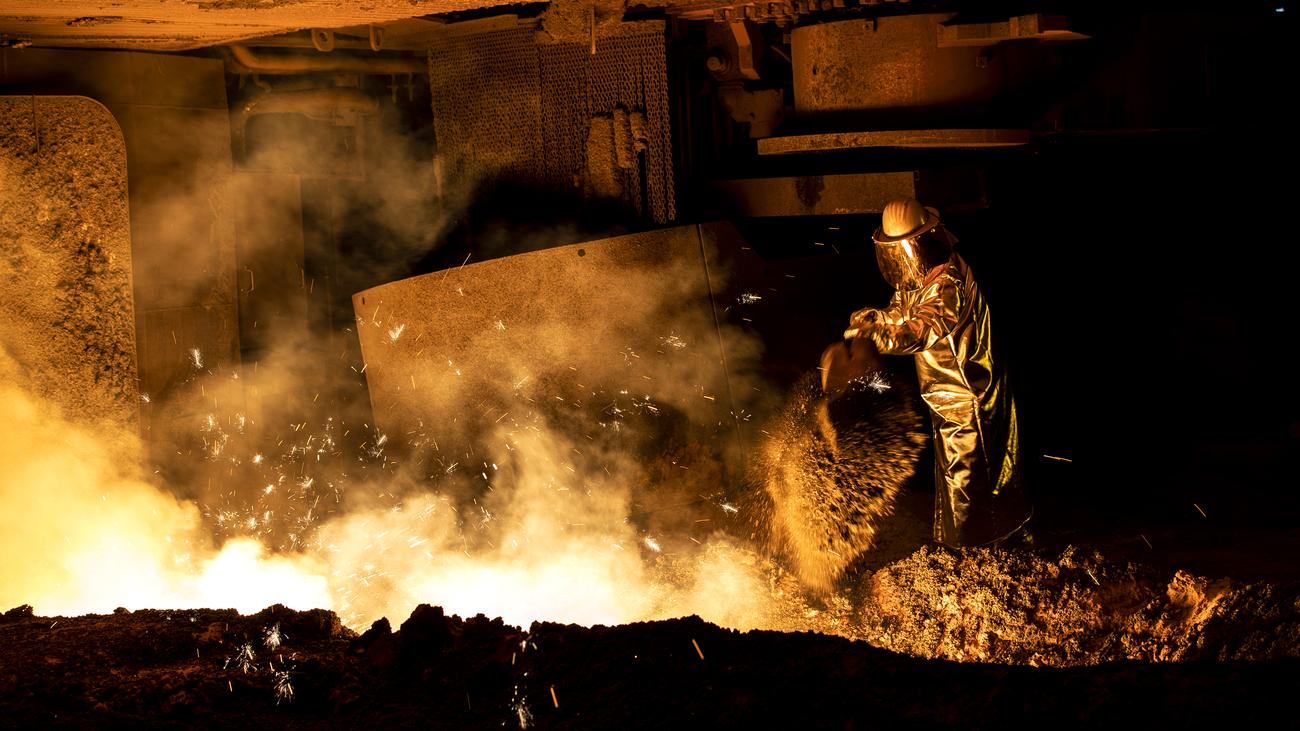 Minister Altmaier kündigt Hilfe für klimafreundlichen Stahl an