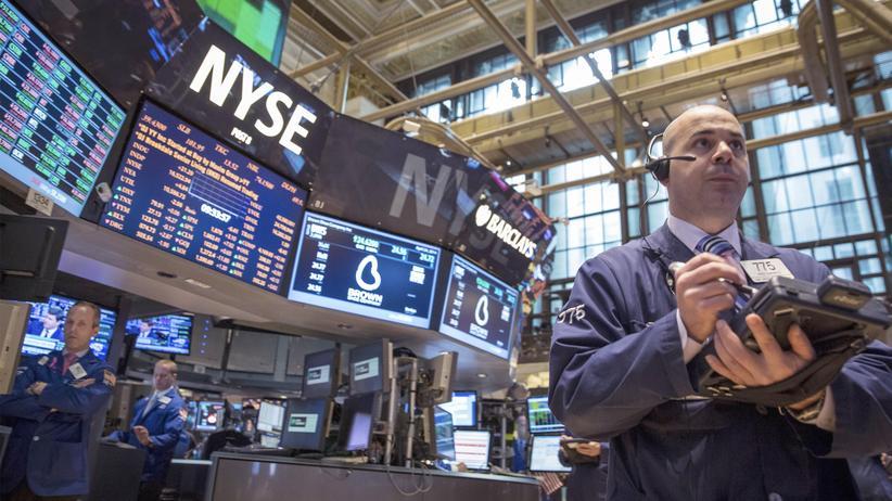 Börsenwert: Händler an der Börse in New York